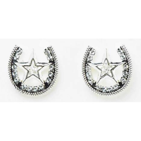 Western Edge Jewelry Star & Horseshoe Earrings