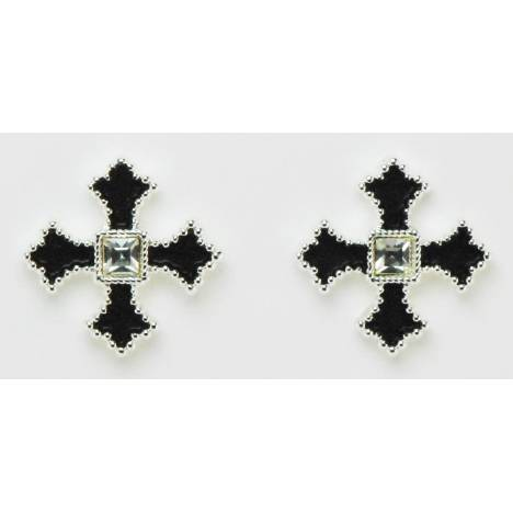 Western Edge Jewelry Filled Cross Earrings