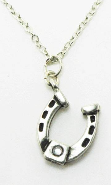 Western Edge Jewelry Retro Horseshoe Necklace