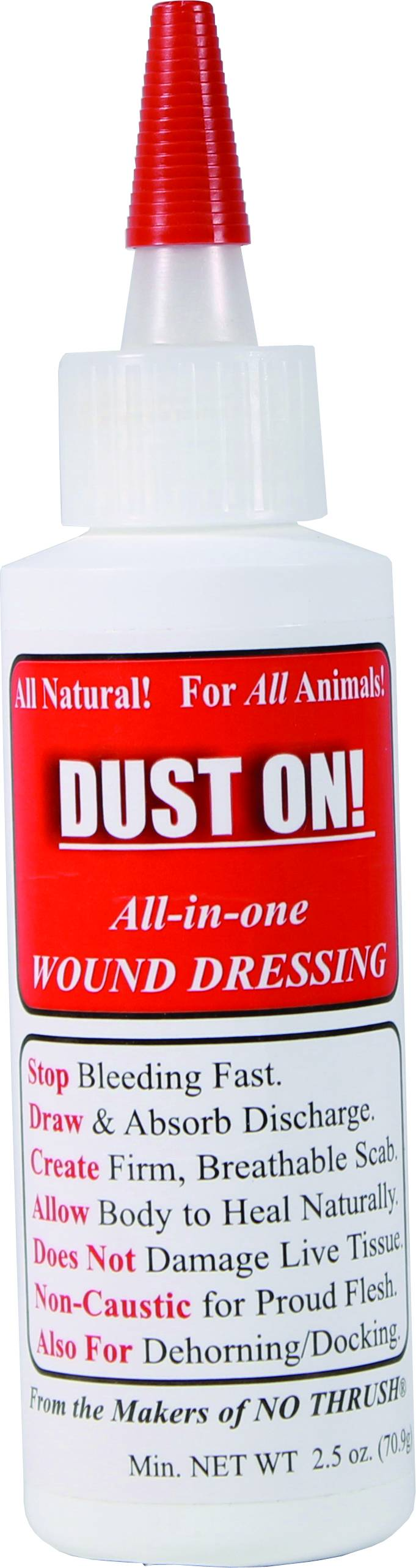 Dust-On All In One 100% Natural Wound Dressing