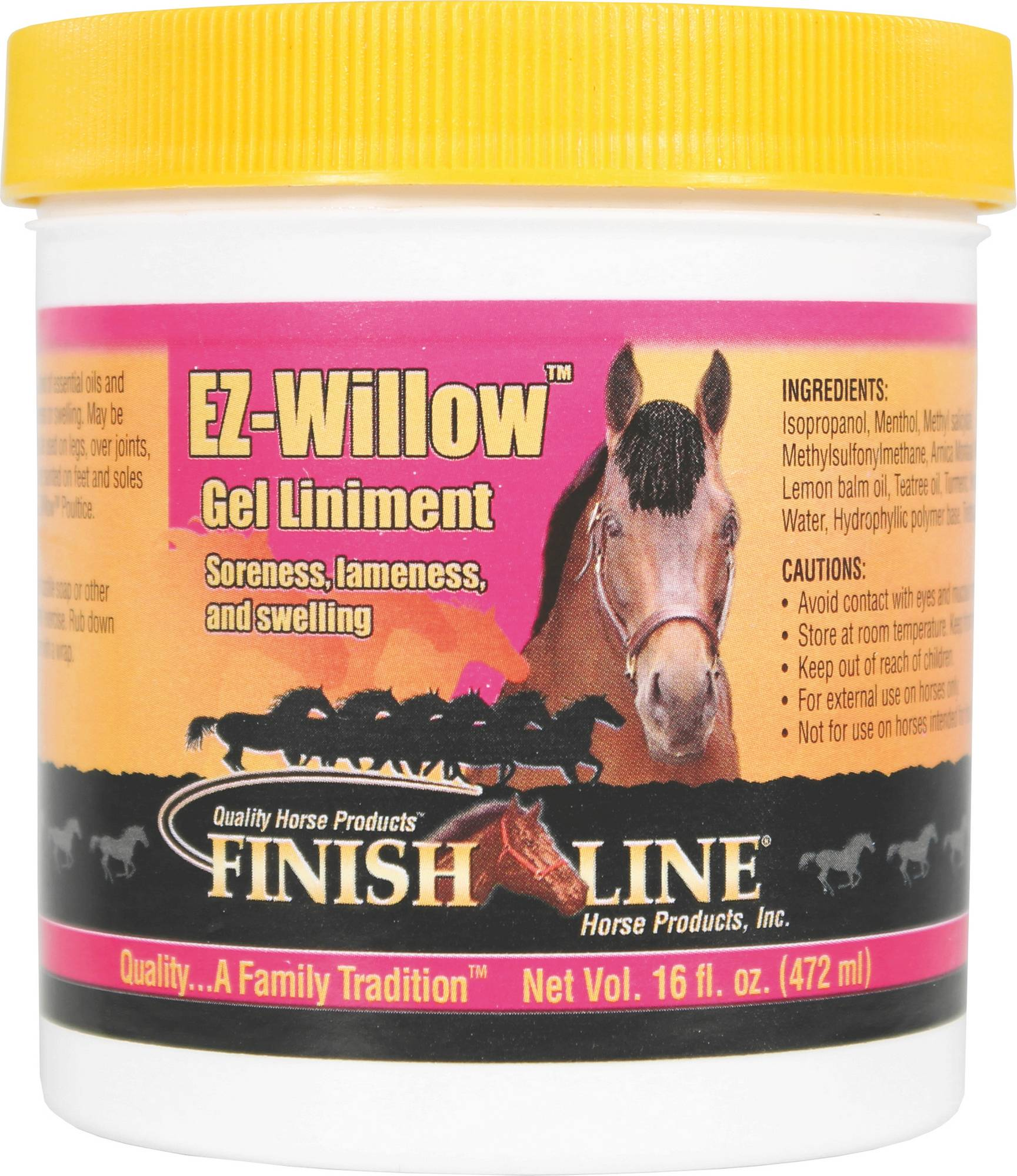 Finish Line Ez-Willow Gel Liniment