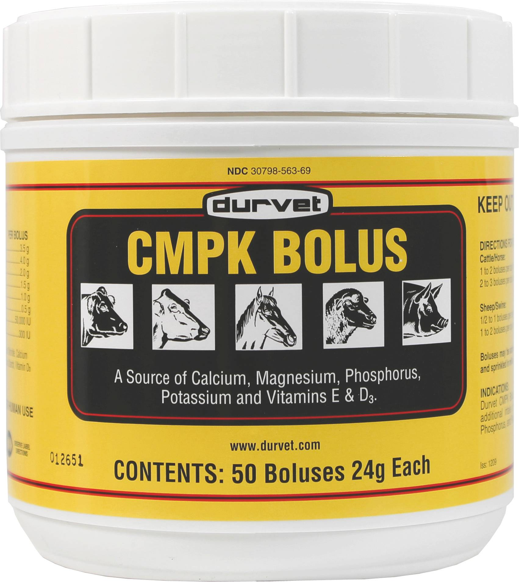 Cmpk Bolus For Animals
