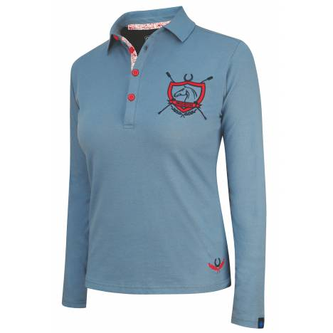 Irideon Princeton Long Sleeve Polo