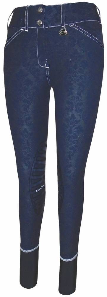 Equine Couture Natasha Damask Breeches - Ladies