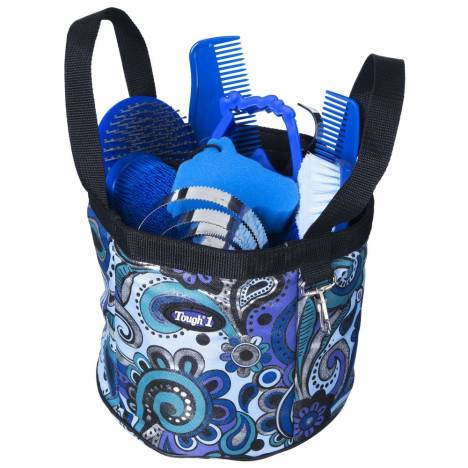 Tough-1 Metallic Paisley 10-Piece Grooming Package