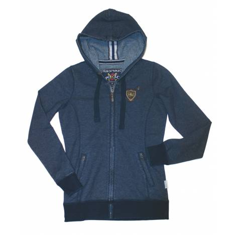 Horseware Polo Denim Hoodie - Ladies