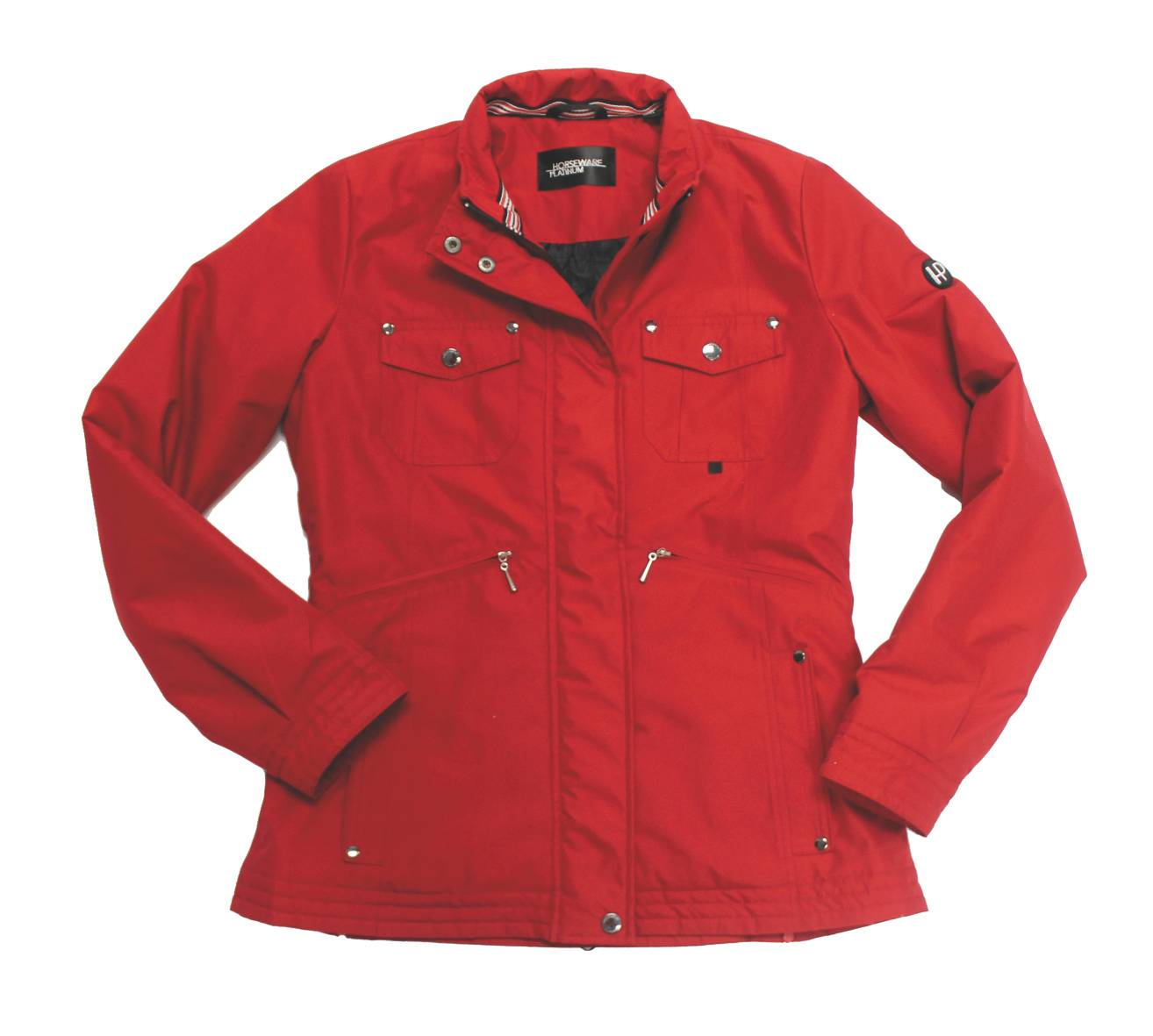 Horseware Platinum Lea Waterproof Jacket - Ladies, Red