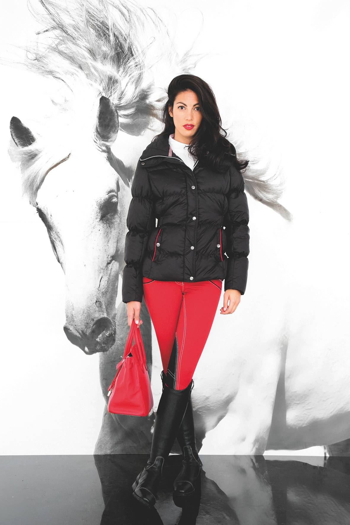 Horseware Platinum Aura Padded Down Jacket - Ladies