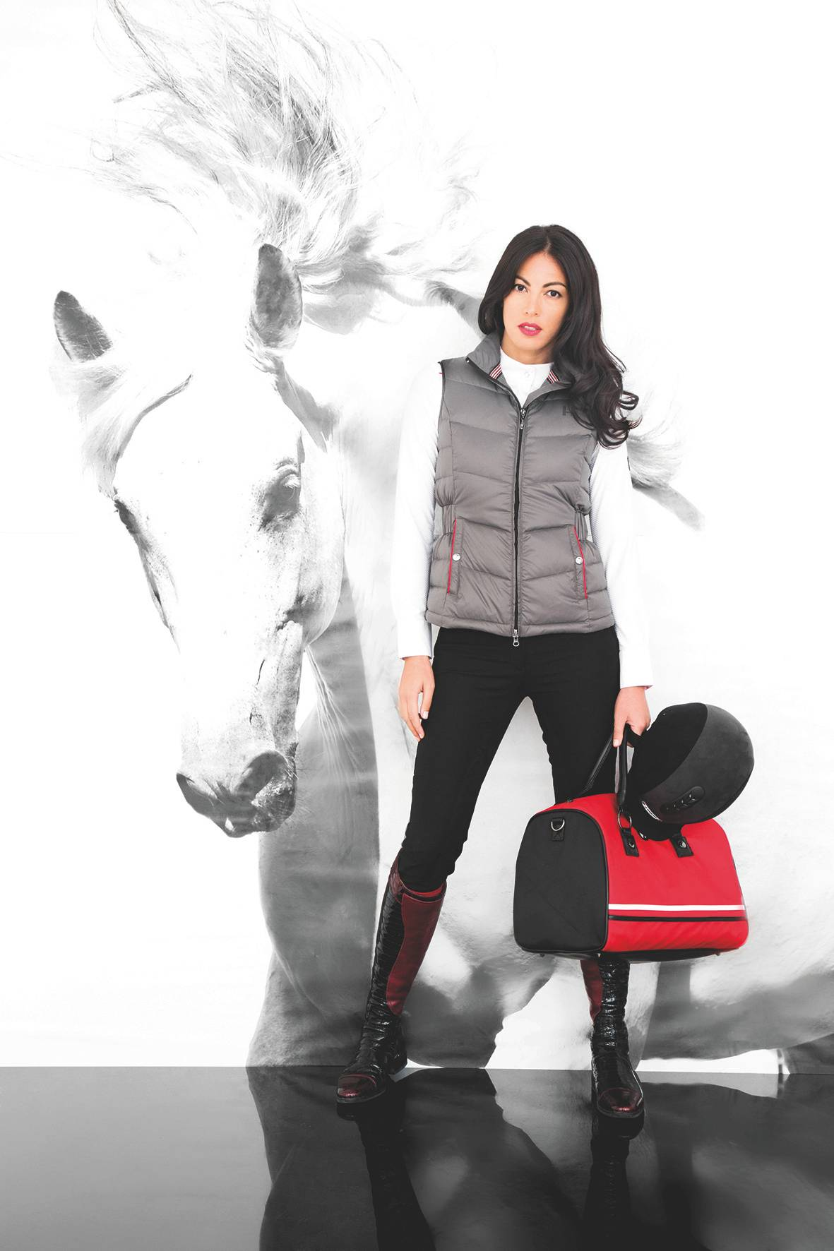 Horseware Platinum Elena Down Fill Vest - Ladies