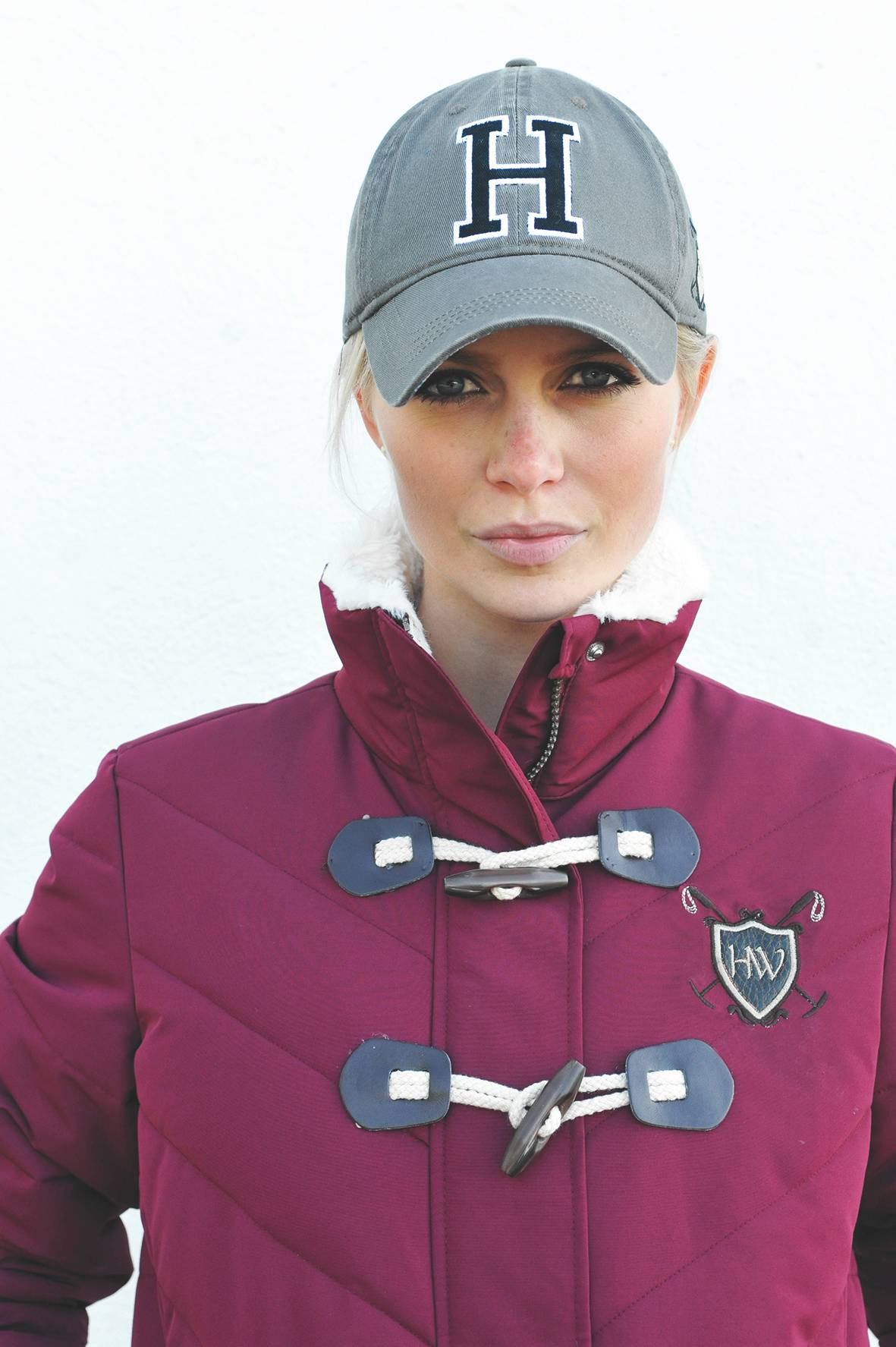 Horseware Polo Grey Cap - Ladies