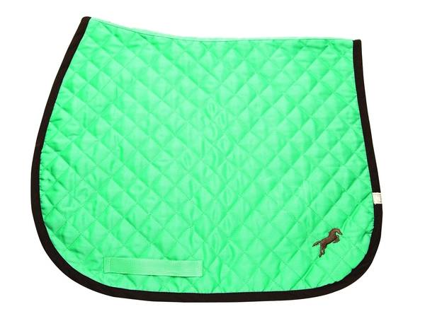 Lettia Embroidered Baby Pad - Seafoam with Brown Jumper