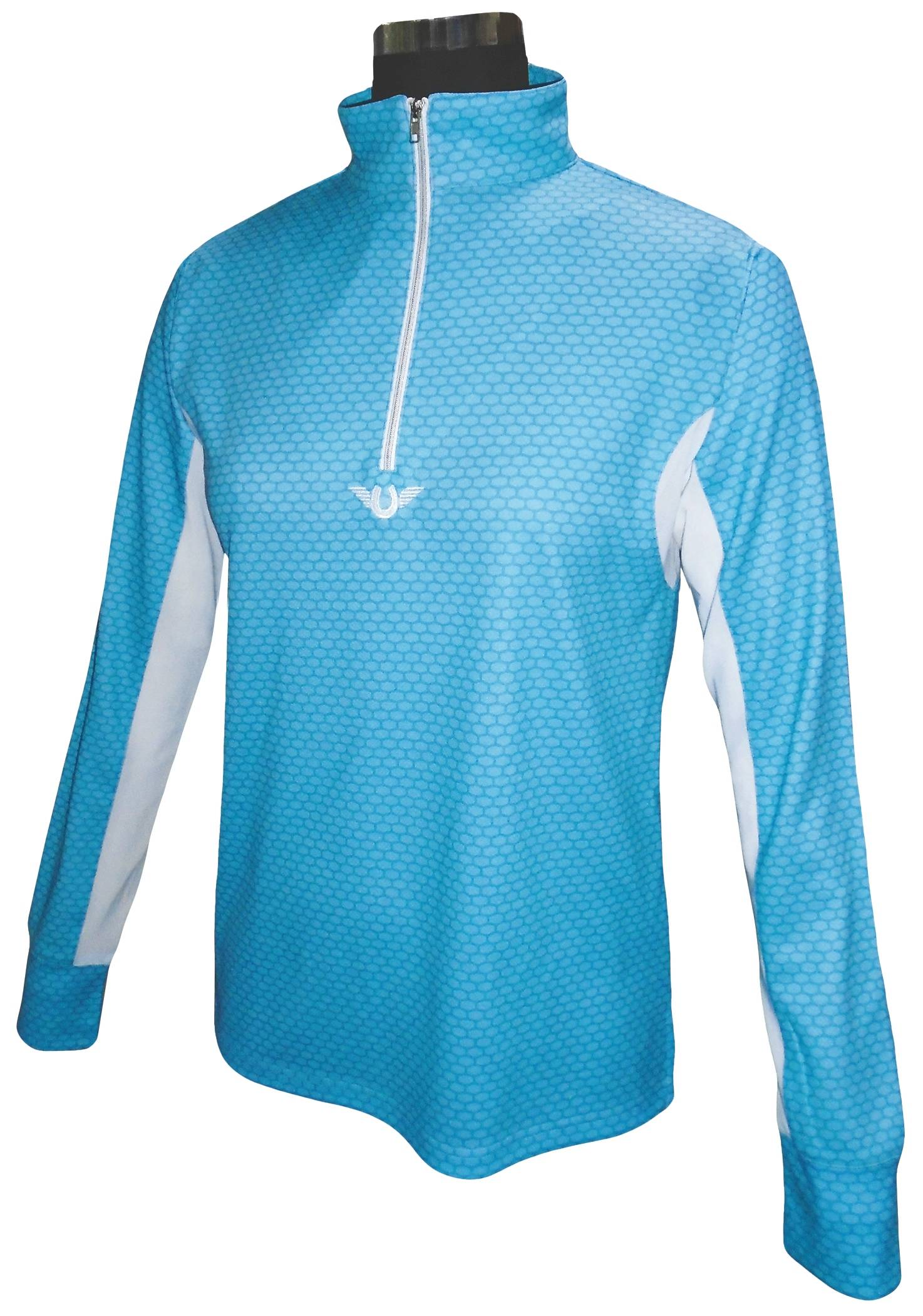 Tuffrider Neon Block Long Sleeve Technical Shirt -Ladies