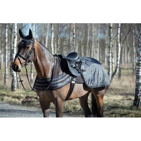 Horze Supreme Dark Reflective Safety Riding Sheet