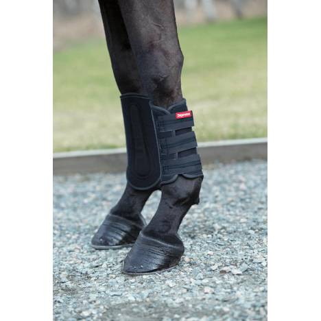 Horze Supreme Dark Reflective Safety Tendon Boots
