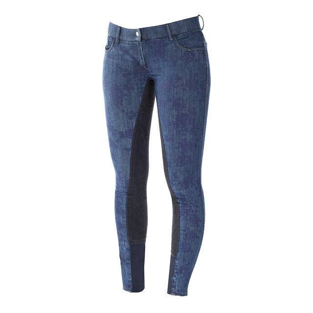 Horze Crescendo Penelope Women's Printed Denim Breech