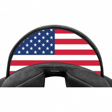 Wintec Lite Cantle- Flag USA