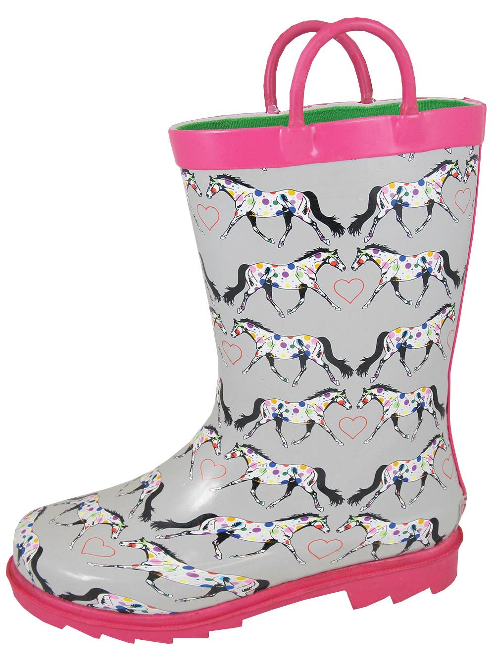 Smoky Mountain Toddler Horseplay Rubber Boots