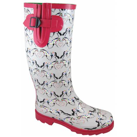 Smoky Mountain Ladies Horseplay Rubber Boots