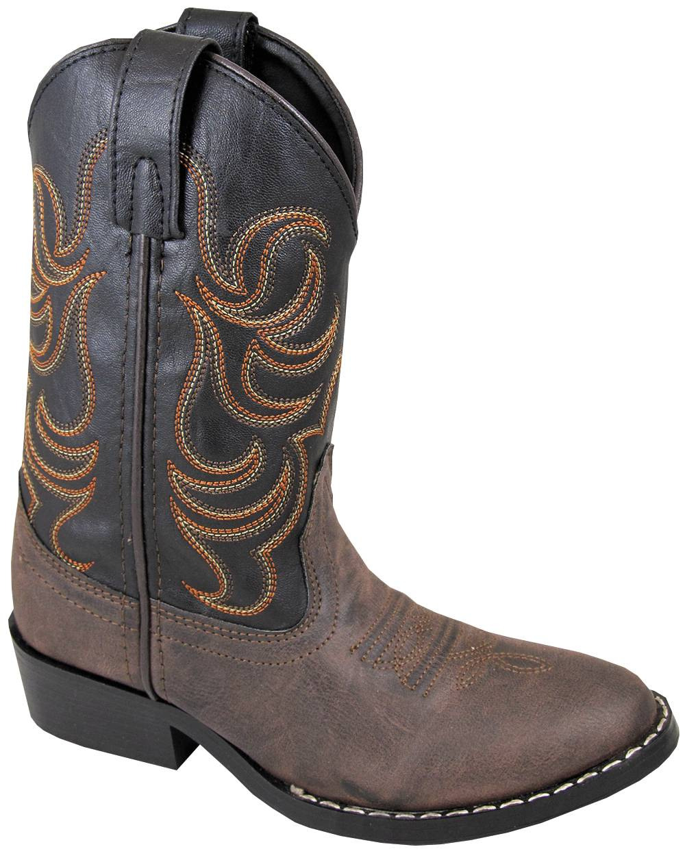 Smoky Mountain Toddler Monterey Western Boots - Brown/Black