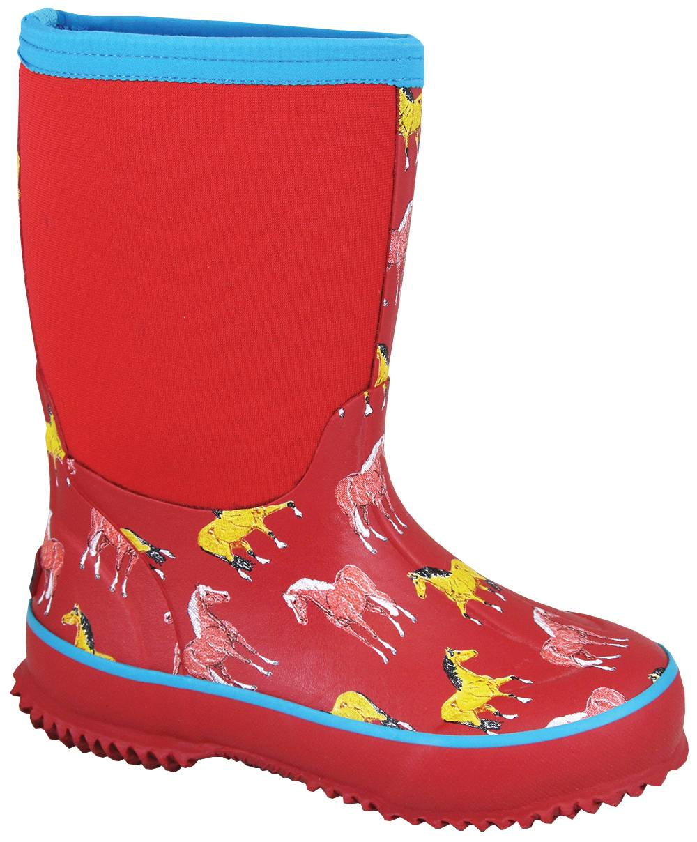 Smoky Mountain Youth Horsin Around Amphibian Boots