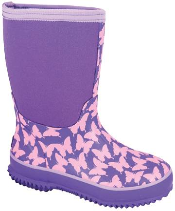 Smoky Mountain Child's Butterfly Amphibian Boots - Pink
