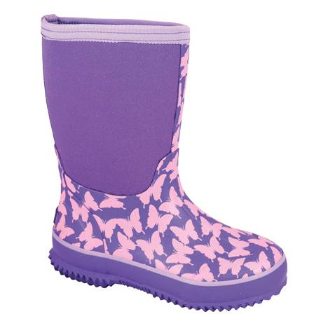 Smoky Mountain Kids Butterfly Amphibian Boots - Pink