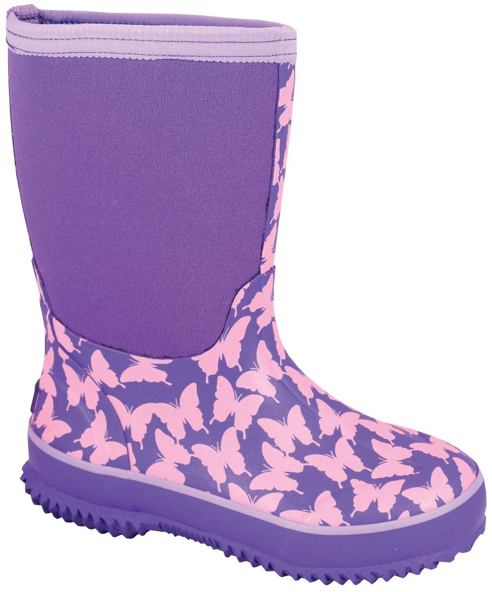 Smoky Mountain Toddler Butterfly Amphibian Boots - Pink