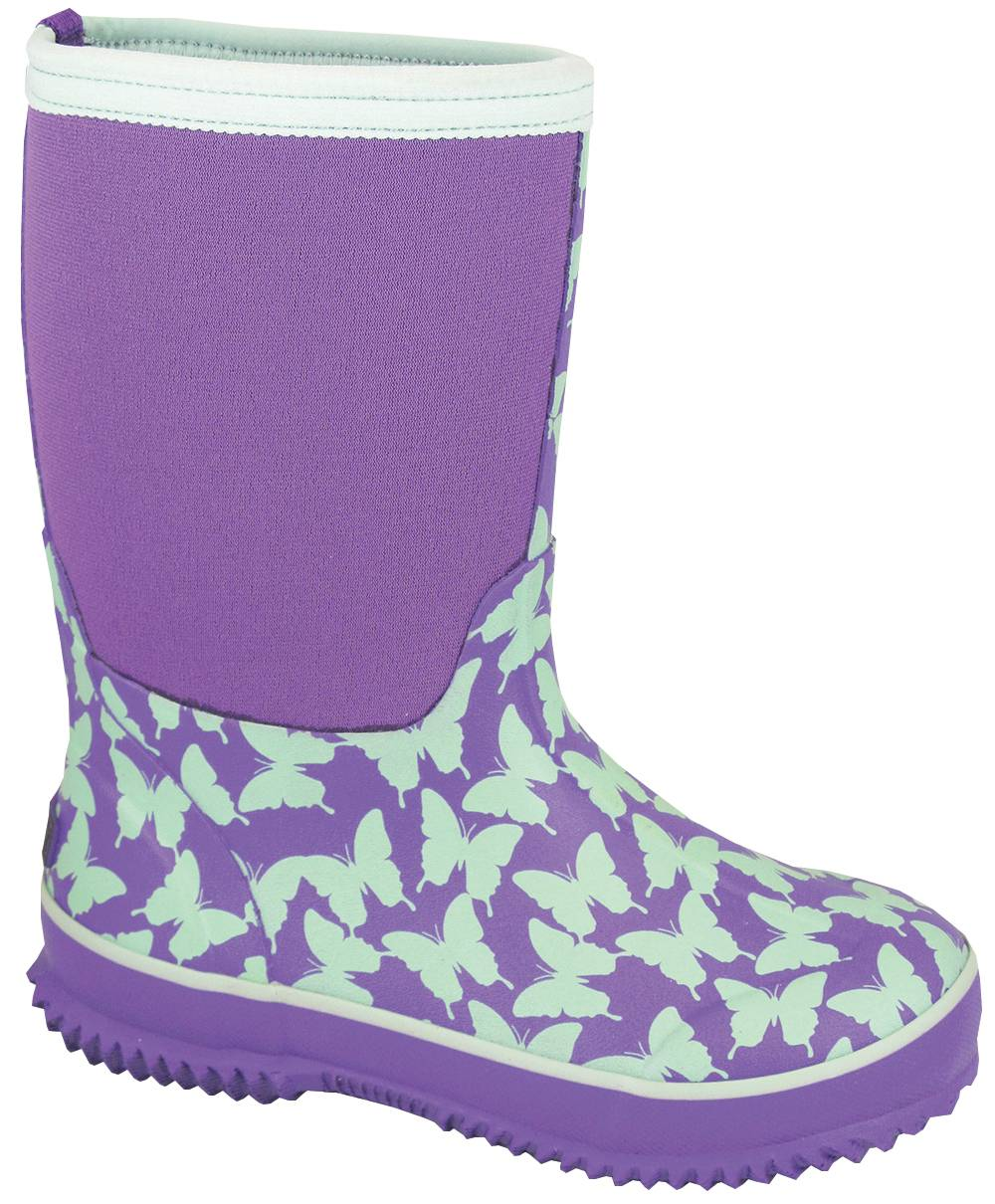 Smoky Mountain Youth Butterfly Amphibian Boots - Light Green
