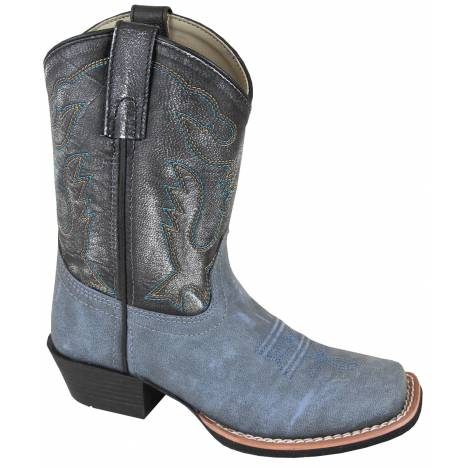 Smoky Mountain Childs Gallup Square Toe Boots - Blue