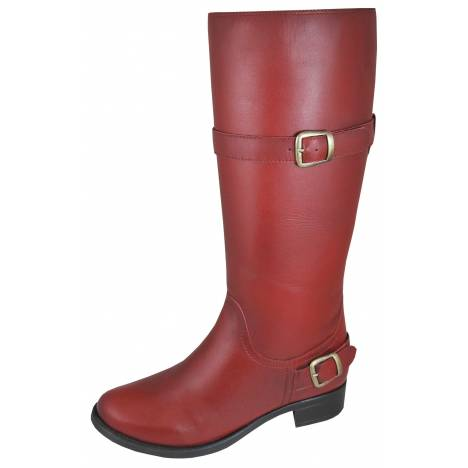 Smoky Mountain Womens Donna Leather Tall Boot - Red