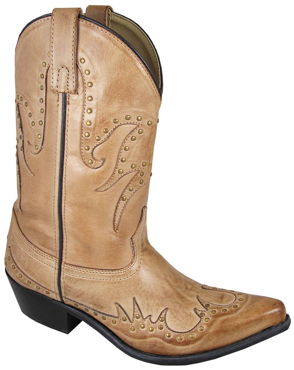 Smoky Mountain Womens Willow Boot With Studs