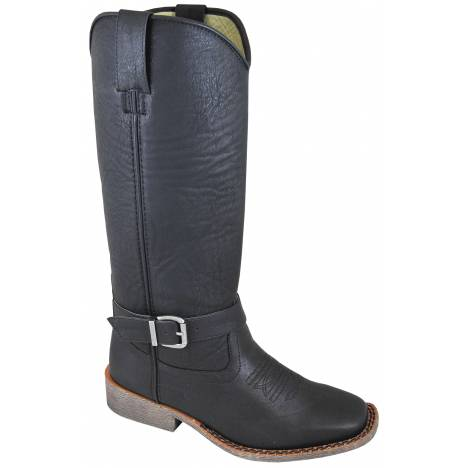 Smoky Mountain Womens Buttercup Tall Square Toe Boots - Black