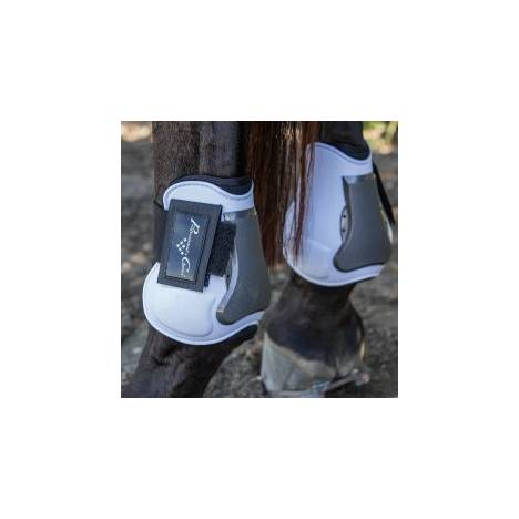 Professional's Choice Pro Performance Memory Foam Open Front Show Jumping Boot - Rear