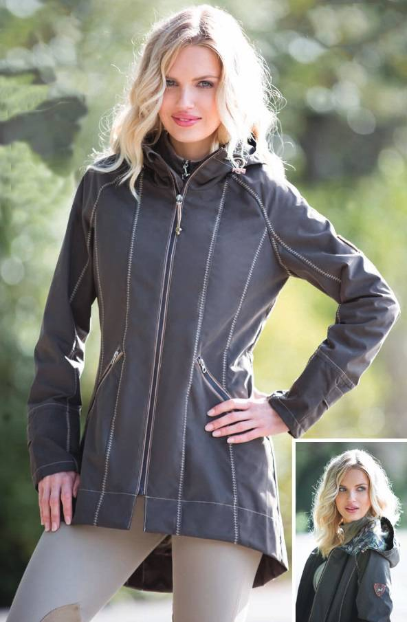 Goode Rider Singing in the Rain Jacket - Ladies