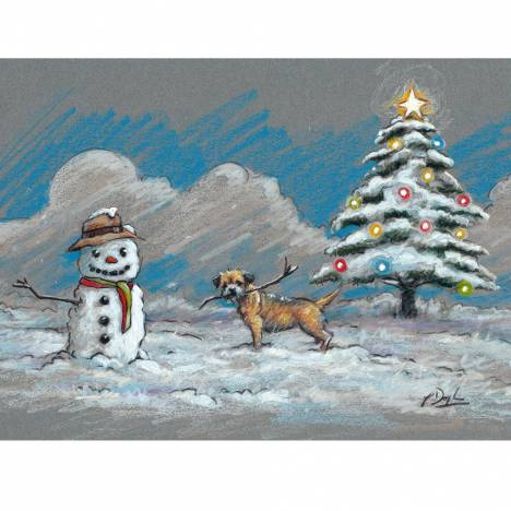 Christmas Cards - The Perfect Present-10 Pack