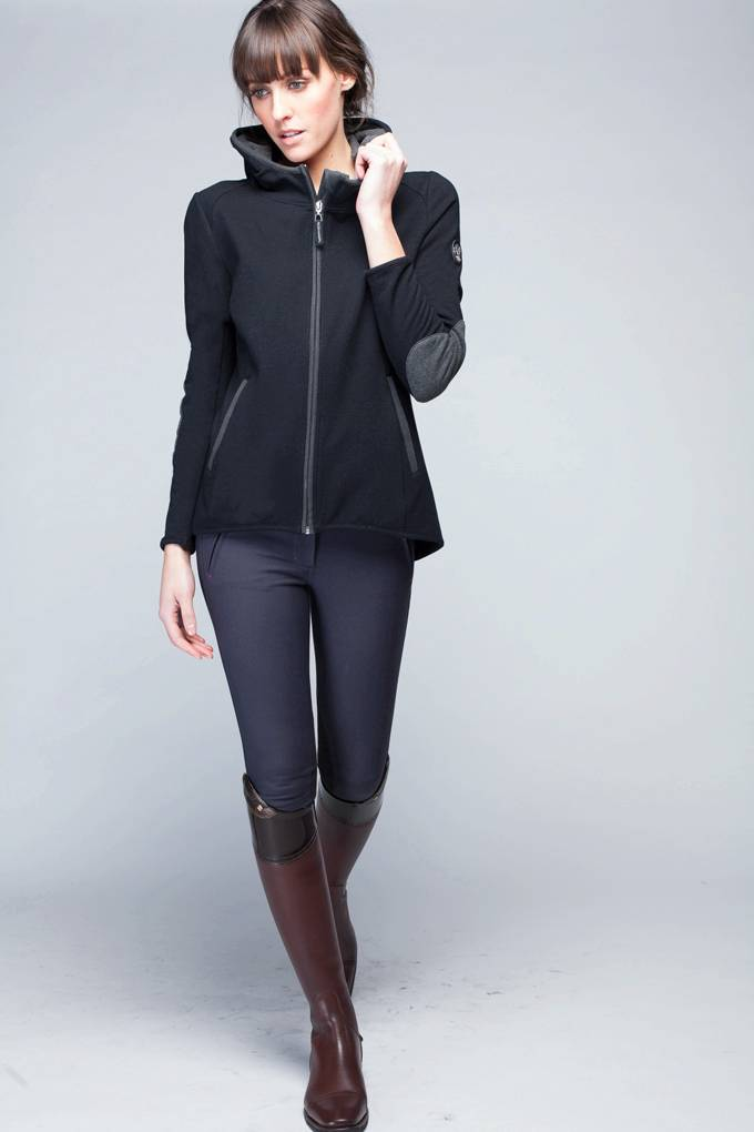 Asmar Bamboo Hoody - Ladies