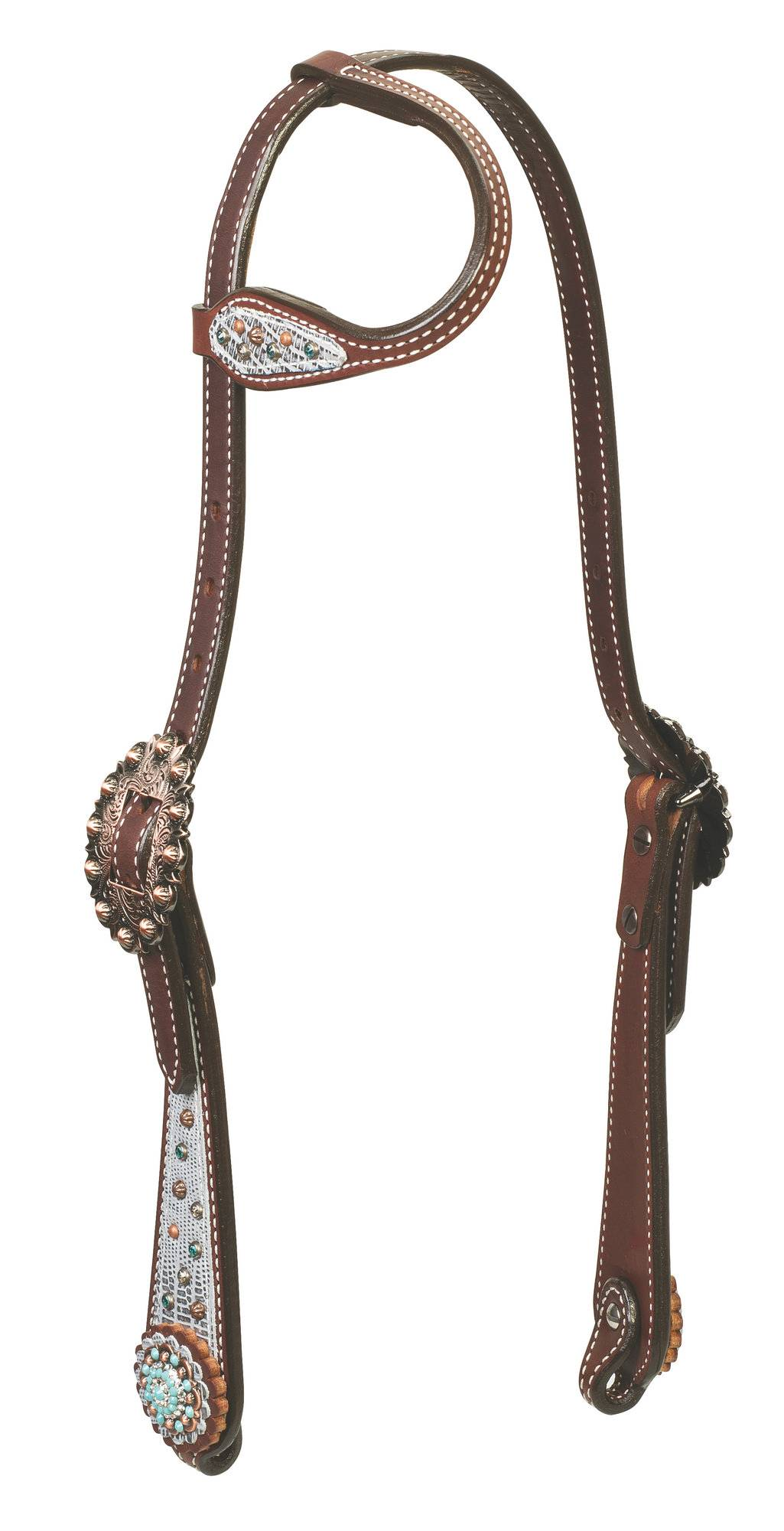 Weaver Montana Sky Sliding Ear Headstall