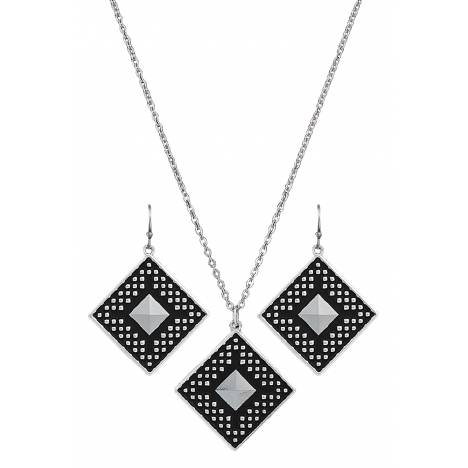 Montana Silversmiths CrossCut Sky Diamond Jewelry Set