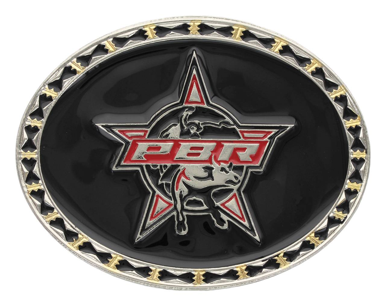 Montana Silversmiths PBR Shining Black Buckle