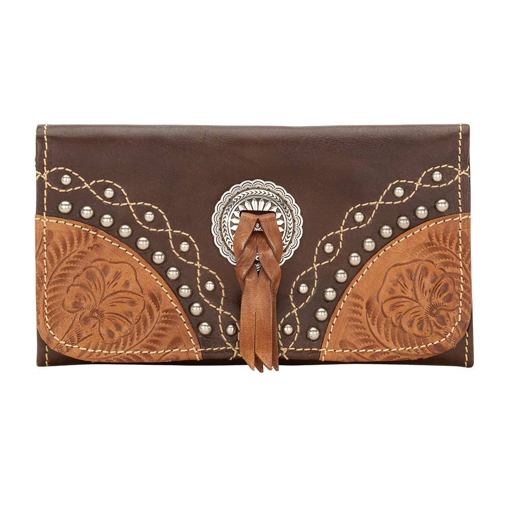 AMERICAN WEST Chestnut Ridge Tri-Fold Wallet
