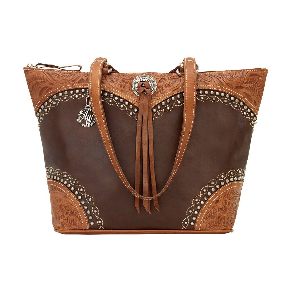 AMERICAN WEST Chestnut Ridge Zip-Top Bucket Tote