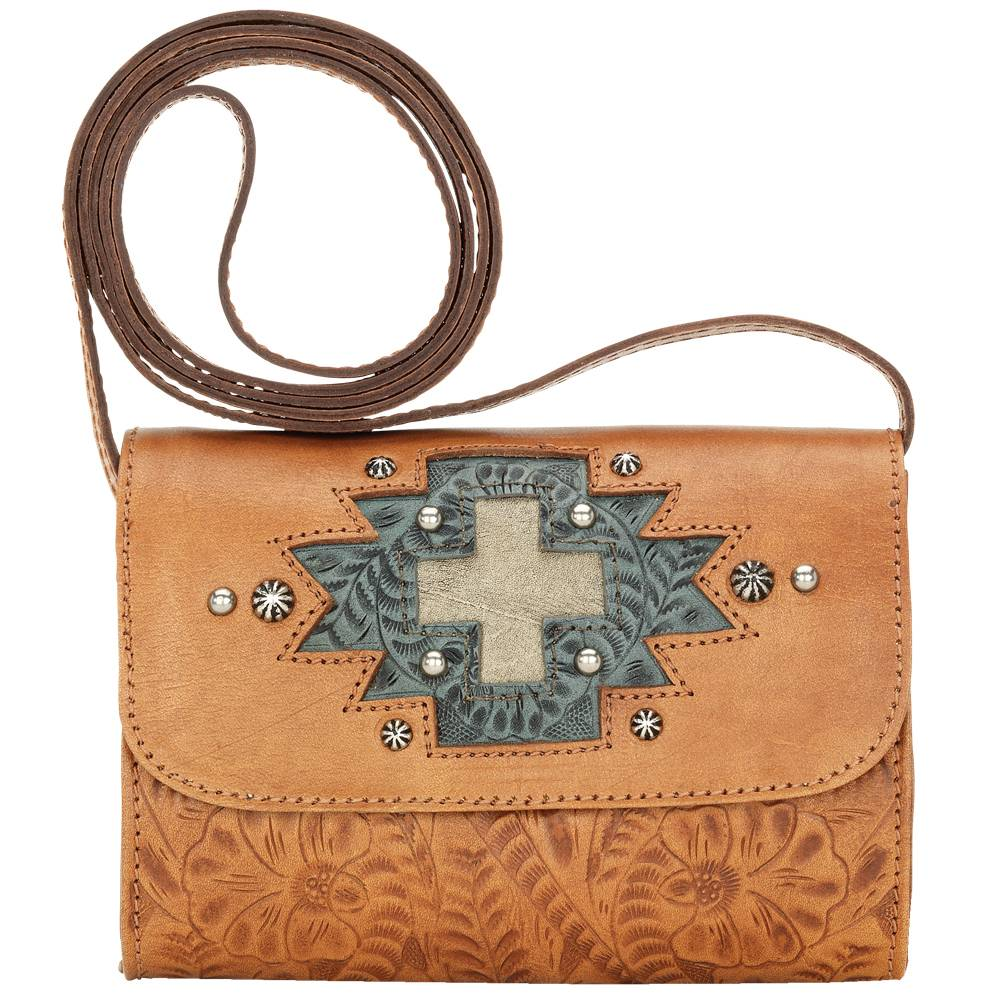 American West Gameday Small Crossbody Bag