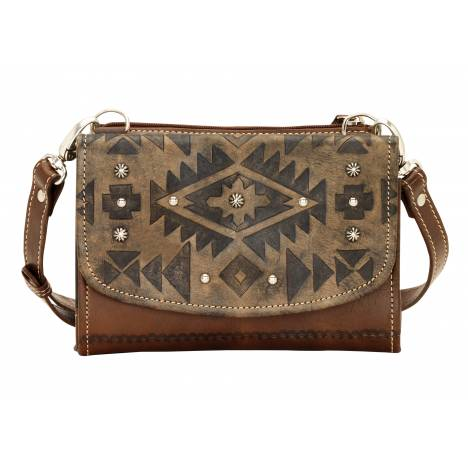 AMERICAN WEST Mystic Shadow Small Crossbody Bag/Wallet