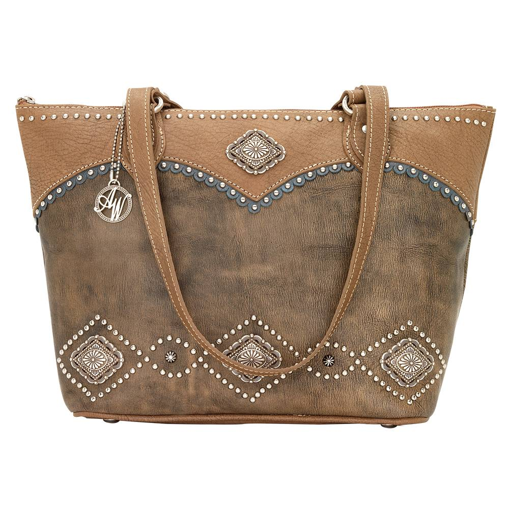 AMERICAN WEST Sierra Zip Top Bucket Tote