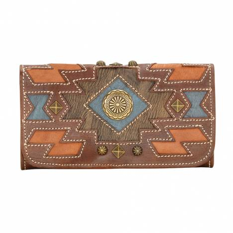 AMERICAN WEST Zuni Passage Tri-Fold Wallet