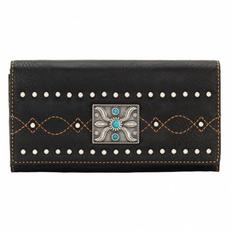 Bandana Black Canyon Flap Wallet