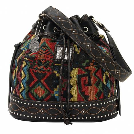 Bandana Black Canyon Drawstring Bucket