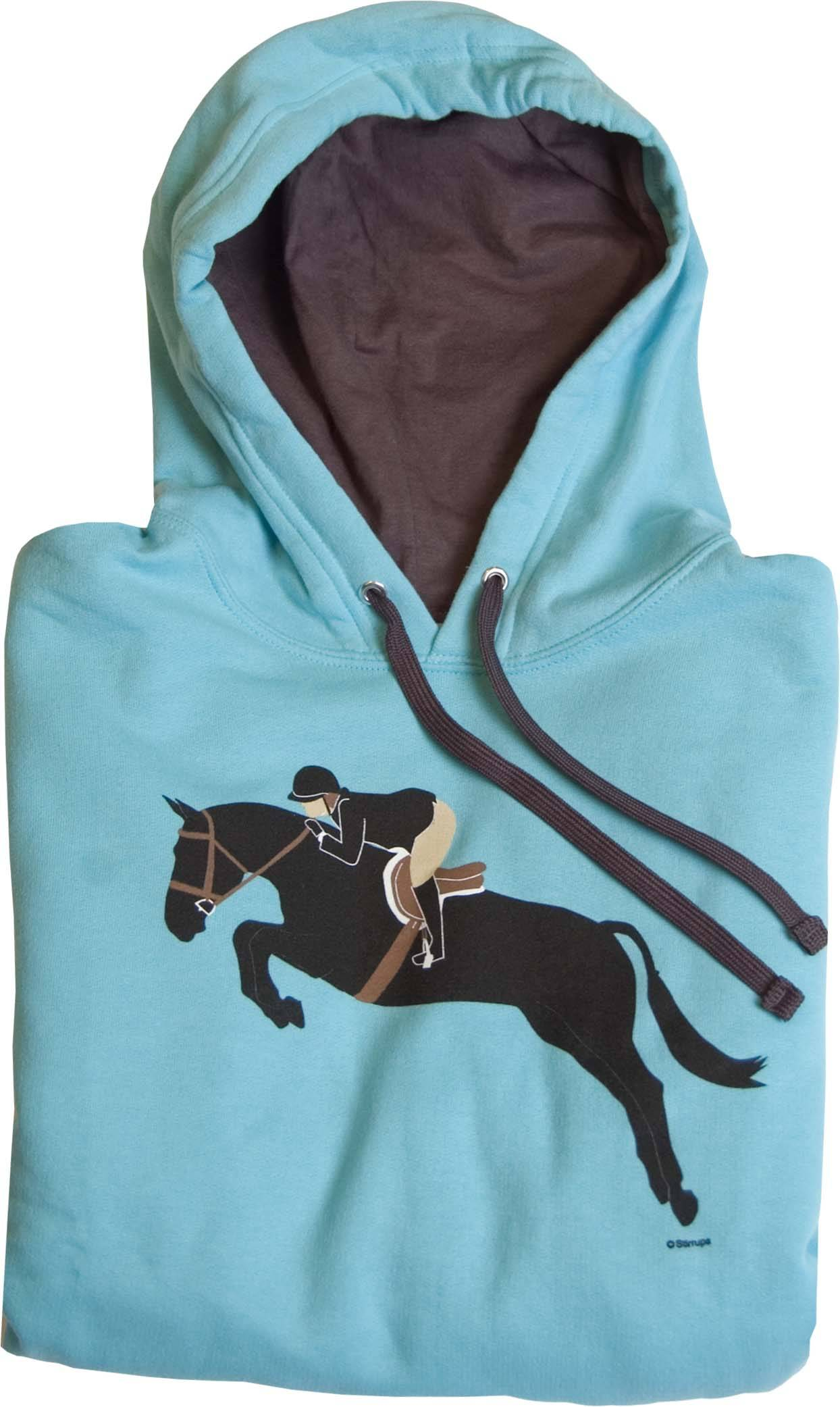 Stirrups Ladies Jumping Conrad Cotton Poly Hooded Sweatshirt
