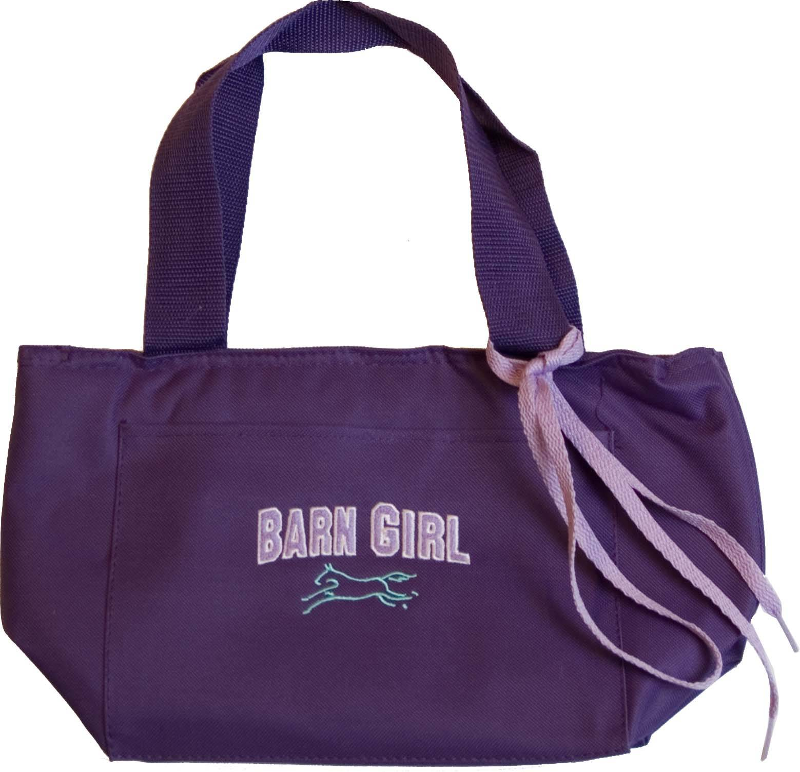 Stirrups Barn Girl Embroidered Lunch Cooler
