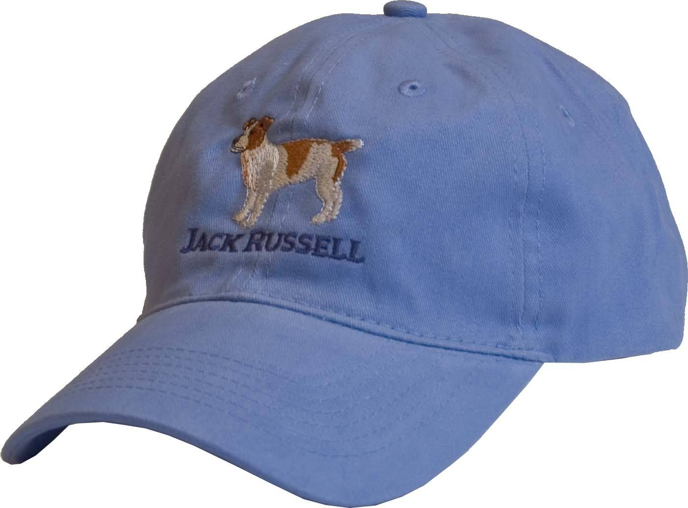 Stirrups Ladies Embroidered Jack Russell Cotton Twill Cap